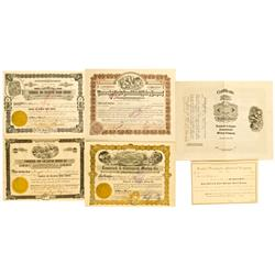 WA - 1900-1924 - Washington State Stock Certificates :
