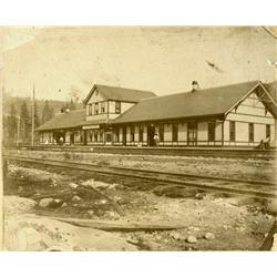 Northport,WA - Stevens County - pre 1914 - Depot Photograph :