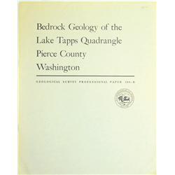 Pierce County,WA - 1968 - Bedrock Geology… :