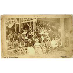 Slaughter,WA - King County - 1893 - Group Photograph :