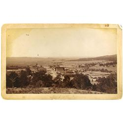 Newcastle,WY - Weston County - c1895 - Overlooking the Town of Newcastle Photograph :
