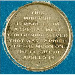 General,1971 - Silver Medal from Apollo 14 Flight :