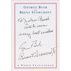George W. and George Bush
