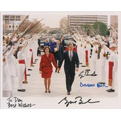 George W., George H. W., and Barbara Bush