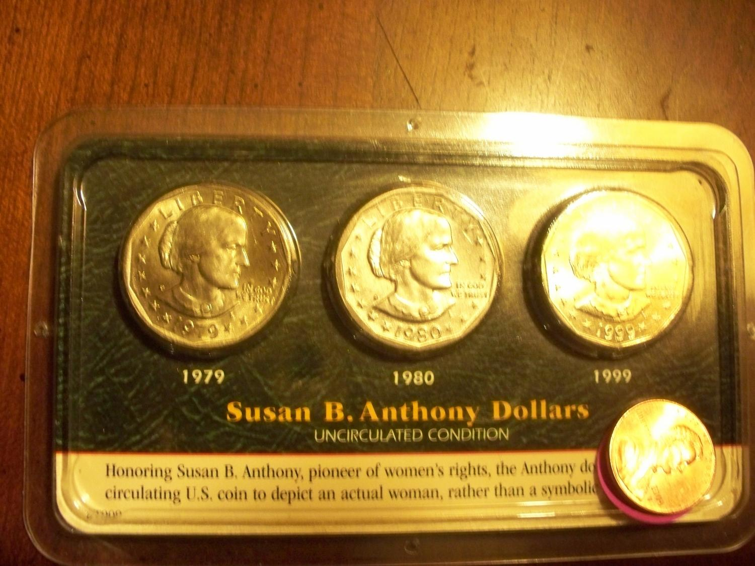 1979 susan b anthony silver dollar  1979  2019-08-26