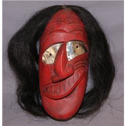 IROQUOIS WOODEN MASK