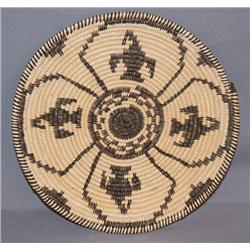 APACHE BASKETRY PLAQUE