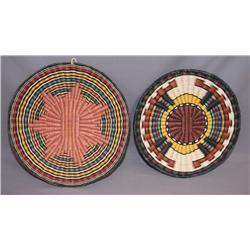HOPI BASKETRY PLAQUES