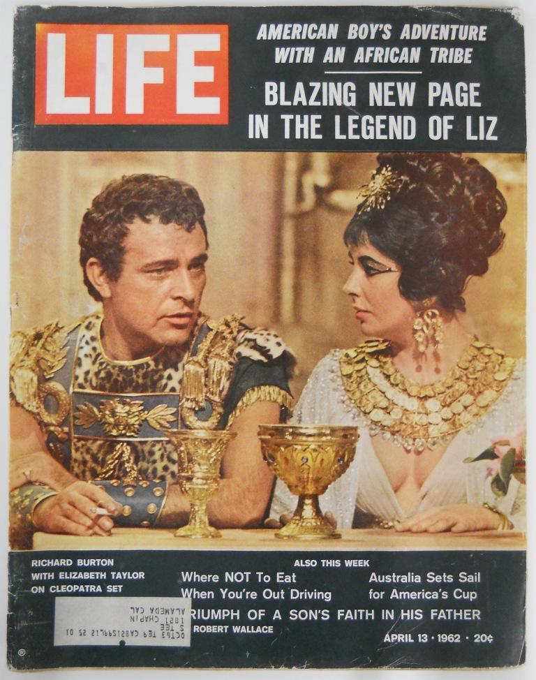 Life Magazine April 13 1962 Mickey Mantle Roger Maris Baseball Cards
