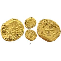 Mexico City, Mexico, cob 4 escudos, (1715J), from the 1715 Fleet.