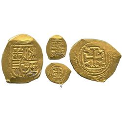 Mexico City, Mexico, cob 2 escudos, Charles II, assayer not visible (L), from the 1715 Fleet.