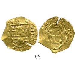 Seville, Spain, cob 2 escudos, 1617D.