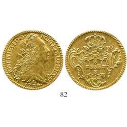 Brazil (Rio mint), 6400 reis, Joseph I, 1776-R.