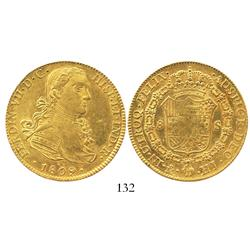 Mexico City, Mexico, bust 8 escudos, Ferdinand VII ( armored  bust), 1809HJ.