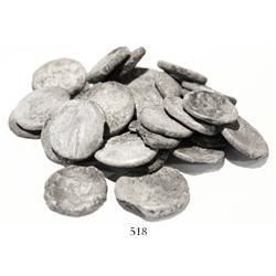 Lot of 28 Egyptian tetradrachms, Ptolemy X (ca. 110-80 BC).