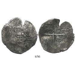 Mexico City, Mexico, cob 8 reales, 164(0?)(P).