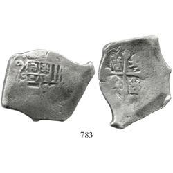 Mexico City, Mexico, cob 8 reales, (17)09(J), rare.
