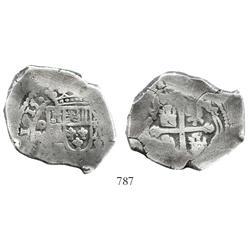 Mexico City, Mexico, cob 8 reales, 1715(J).