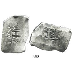 Mexico City, Mexico, cob 8 reales, (17)30R.