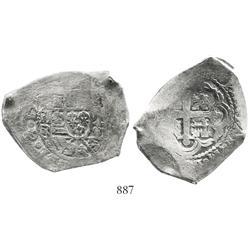 Mexico City, Mexico, cob 8 reales, 17(29-30)R.