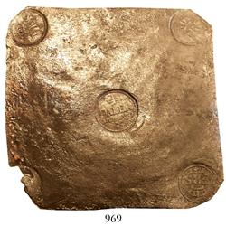 "Sweden (Avesta), copper ""plate money"" 4 dalers, Frederik I, 1723."