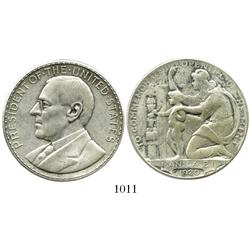 "Philippines, silver ""Wilson dollar"" medal, 1920."