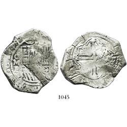 Mexico City, Mexico, cob 8 reales, 1649/8P.