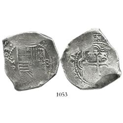 Mexico City, Mexico, cob 8 reales, (1)663P.