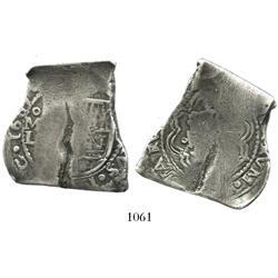 Mexico City, Mexico, cob 8 reales, 1689L, extremely rare.
