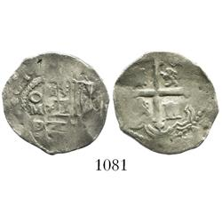 Mexico City, Mexico, cob 1 real, 1619/8D/F.
