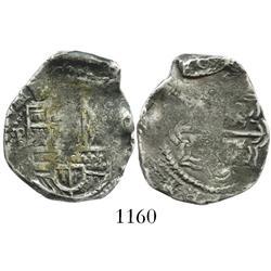 Potosi, Bolivia, cob 2 reales, (16)30(T), rare.