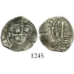 Potosi, Bolivia, cob 1 real, 1659E.