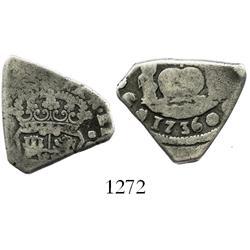 Guatemala, cob 2 reales, 1736(J).