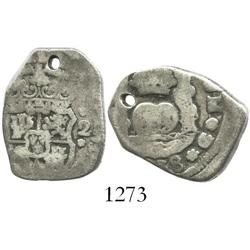 Guatemala, cob 2 reales, (17)38(J).