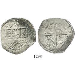 Toledo, Spain, cob 4 reales, (16)10C.