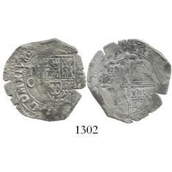 Toledo, Spain, cob 2 reales, 160(?)C.