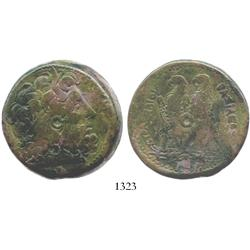 PTOLEMAIC KINGS of EGYPT, bronze AE 42 mm, Ptolemy II, Philadelphos, 285-246 BC.