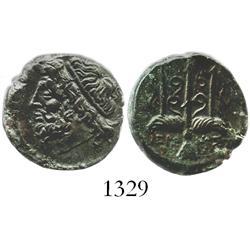 SICILY, Syracuse, bronze AE 19 mm, Hieron II (274-216 BC).