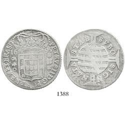 Brazil, 640 reis, Pedro II, 1695.