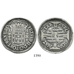 Brazil (Pernambuco mint), 640 reis, Pedro II, 1701-P.