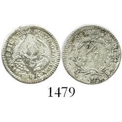 Popayan, Colombia, 1/2 real, 1846UE.