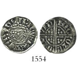 """England, """"long cross"""" penny, Henry III (1216-1272), class IIIc (without scepter), moneyer Nicole on"""