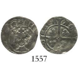 England (York mint), penny, Richard II (1377-99), early style.
