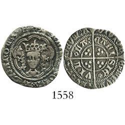England (Calais mint), half groat, Henry VI (1422-61), rosette-mascle issue (1427-30).