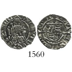 England (York mint), penny, Henry VII (1485-1509), Archbishop Rotherham.