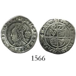 London, England, threepence, Elizabeth I, 1577/6.