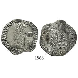 "London, England (Tower mint under king), shilling, Charles I (1625-49), ""Aberystwyth"" bust, mintmark"