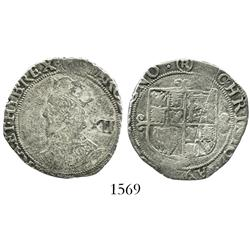 London, England (Tower mint under Parliament), shilling, Charles I (1625-49), mintmark ( R ) (1644-5