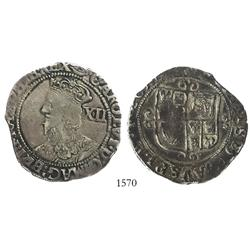 London, England (Tower mint under Parliament), shilling, Charles I (1625-49), mintmark eye (1645).