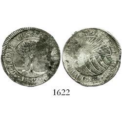 Honduras (Tegucigalpa), 2 reales, 1832-TF.